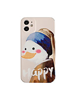 cheap -Case For iPhone 11 Shockproof Back Cover  Word / Phrase / Cartoon TPU For Case 7/8/7P/8P/X/XS/XS MAX/11 PRO/11 PRO MAX