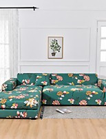 cheap -Floral 1-Piece Sofa Cover Couch Cover Furniture Protector Soft Stretch Sofa Slipcover Spandex Jacquard Fabric Super Fit for 1~4 Cushion Couch and L Shape Sofa,Easy to Install(1 Free Cushion Cover)