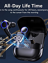 cheap -LX_08 Wireless Earbuds TWS Headphones Bluetooth5.0 with Microphone with Charging Box LED Power Display for Travel Entertainment