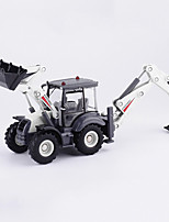 cheap -1:50 Alloy Excavator Toy Truck Construction Vehicle Pull Back Vehicle Simulation Music & Light All Adults Kids Car Toys
