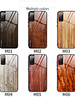 cheap -Case For Samsung Galaxy Galaxy A30(2019) / Samsung Galaxy A70(2019) / Samsung Galaxy A80 Shockproof Back Cover Wood Grain TPU