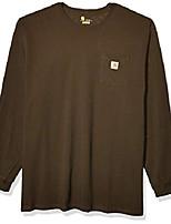 cheap -but& #39;s k126 workwear jersey pocket long-sleeve shirt & #40;regular and big & tall sizes& #41;, peat, 2x-large