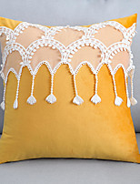 cheap -Velvet Princess Style Pillow Case Small Fresh Nordic Pillow Case