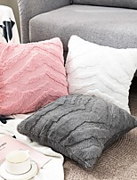 cheap -2pcs Cushion Cover Throw Pillow Cover Decorative Pillowcase Rabbit Velvet 1PC 45cm*45cm No Pillow Insert
