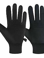 cheap -winter gloves warm lightweight touchscreen windproof warm touchscreen gloves men women for hiking cycling running sports (black, xl)