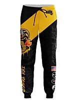 cheap -Inspired by Cobra Kai the Karate Kid the Karate Kid Pants Cosplay Costume Terylene Print Printing Pants For Men's / Women's