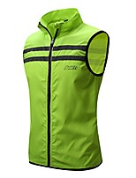 "cheap -men's hi-viz safety running cycling vest - windproof and reflective (xx-large - chest 44-46"",grey)"