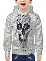 cheap -Kids Boys' Active 3D Print Long Sleeve Hoodie & Sweatshirt White