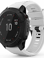 cheap -quickfit 26mm watch band for garmin fenix 3 hr sapphire,fenix 5x plus,fenix 6x pro sapphire solar,foretrex 601 701,quatix 3,tactix bravo charlie delta,d2 bravo delta px,descent mk1 (white)