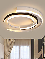 cheap -40/50 cm Dimmable Geometric Shapes Flush Mount Lights Metal Painted Finishes LED Modern 110-120V 220-240V