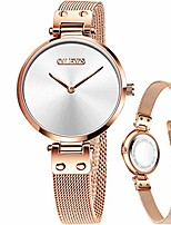 cheap -lady waterproof dress wrist watch,fashion steel mesh simple wrist watch,white small dial watches for women,small dial watches for women,classic casual minimalist thin watch,quartz analog round watch
