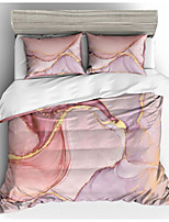cheap -Marble Print 3-Piece Duvet Cover Set Hotel Bedding Sets Comforter Cover with Soft Lightweight Microfiber(Include 1 Duvet Cover and 1or 2 Pillowcases)
