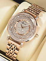 cheap -Women's Steel Band Watches Quartz Stylish Glitter Casual Water Resistant / Waterproof Analog Rose Gold