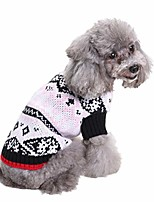 cheap -dog warm coats dog outfit - winter pet knitted sweater pet high collar sweater puppy cloth soft pet costume pet cosplay clothes gift for christmas party (pink, xl)