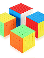 cheap -Speed Cube Set 4 pcs Magic Cube IQ Cube 4*4*4 5*5*5 6*6*6 Speedcubing Bundle 3D Puzzle Cube Stress Reliever Puzzle Cube Stickerless Smooth Office Desk Toys Pyramid Kid's Adults Toy Gift