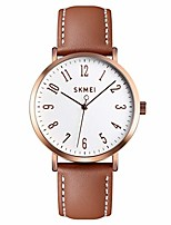 cheap -fashion women wrist watch, toocat lady simple leather quartz watches ultra-thin waterproof analog watches for girls student