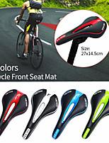 cheap -Bike Saddle / Bike Seat Breathable Padded Nondeformable Professional Leather ABS Cycling Mountain Bike MTB Folding Bike Recreational Cycling Black / Red Green / Black Bule / Black / Ergonomic