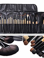 cheap -24 pcs makeup brush set tools make-up kit brand make up
