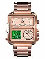 cheap -men digital watch, waterproof military wrist watch for men, analogue quartz watch with luminous chronograph alarm