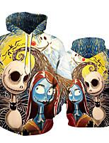 cheap -Inspired by The Nightmare Before Christmas Sally Cosplay Costume Hoodie Terylene 3D Printing Hoodie For Men's / Women's