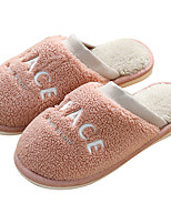cheap -Women's Slippers / Men's Slippers House Slippers Casual Nubuck Shoes