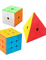 cheap -Speed Cube Set 3 pcs Magic Cube IQ Cube 2*2*2 3*3*3 Speedcubing Bundle 3D Puzzle Cube Stress Reliever Puzzle Cube Stickerless Smooth Office Desk Toys Kid's Adults Toy Gift
