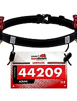 cheap -running number belt for running, cycling,marathon,triathlon race,with 6 gel loops to attach energy gel