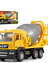 cheap -1:50 Alloy Blender Toy Truck Construction Vehicle Pull Back Vehicle Simulation Music & Light All Adults Kids Car Toys