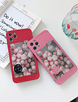 cheap -Case For Apple iPhone 11 / iPhone 11 Pro / iPhone 11 Pro Max Pattern Back Cover Word / Phrase / Animal / Flower TPU