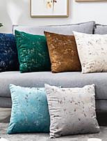 cheap -Modern Simple Solid Color Velvet Pillowcase Bedroom Sofa Pillowcase