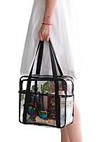 cheap -travel clear makeup handbag large toiletry cosmetic organizer bag waterproof