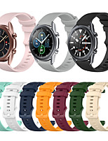 cheap -Watch Band for Galaxy Watch 3 45mm / Galaxy Watch 3 41mm Samsung Galaxy Sport Band Silicone Wrist Strap