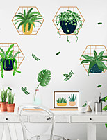cheap -Floral / Botanical Wall Stickers 3D Wall Stickers Decorative Wall Stickers, PVC Home Decoration Wall Decal Wall Decoration 1pc