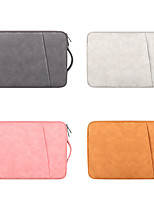 cheap -13.3 Inch Laptop / 14 Inch Laptop / 15.6 Inch Laptop Sleeve / Briefcase Handbags / Tablet Cases PU Leather / Polyurethane Leather Solid Colored / British for Men for Women for Business Office