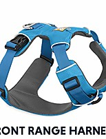 cheap -- front range, everyday no pull dog harness with front clip, trail running, walking, hiking, all-day wear, pacific blue (2016), small