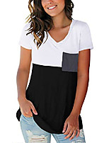 cheap -womens t shirts plus size rolled sleeve workout tops oversized spring black xxl