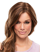 cheap -Synthetic Wig Curly Water Wave Middle Part Wig Long Light Brown Dark Brown Synthetic Hair Women's Fashionable Design Exquisite Dark Brown Light Brown