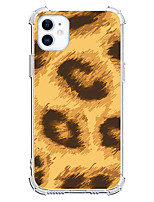 cheap -Leopard Print Case For Apple iPhone 12 iPhone 11 iPhone 12 Pro Max Unique Design Protective Case Shockproof Back Cover TPU