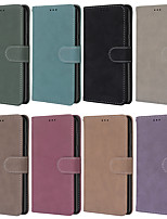 cheap -Case For Nokia Nokia 8 / Nokia 8 Sirocco / Nokia 7 Wallet / Card Holder / Shockproof Full Body Cases Solid Colored PU Leather / TPU