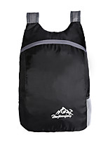 cheap -15 L Lightweight Packable Backpack Lightweight Rain Waterproof Fast Dry Waterproof Zipper Outdoor Hunting Hiking Climbing Nylon Dark Pink Black Red