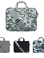 cheap -13.3 Inch Laptop / 14 Inch Laptop / 15.6 Inch Laptop Sleeve / Shoulder Messenger Bag / Briefcase Handbags Polyester Camouflage / Solid Colored for Men for Women for Business Office Waterpoof Shock