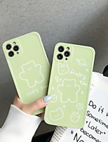 cheap -Case For Apple iPhone 11 / iPhone 11 Pro / iPhone 11 Pro Max Pattern Back Cover Word / Phrase / Animal / Cartoon TPU