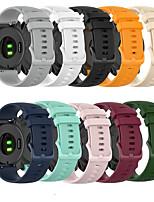 cheap -Watch Band For Garmin Forerunner 745/Garmin Vivoactive 4  Band Silicone Smart watch Bracelet 22mm Strap Watch Accessories Wrist
