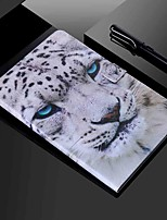 cheap -Case For Apple iPad mini 1/2/3  7.9'' / iPad mini 4 7.9'' / iPad mini 5 7.9'' Wallet / Card Holder / with Stand Full Body Cases Animal PU Leather / TPU