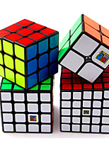 cheap -Speed Cube Set 4 pcs Magic Cube IQ Cube MoYu 2*2*2 3*3*3 4*4*4 Speedcubing Bundle Stress Reliever Puzzle Cube Smooth Office Desk Toys Brain Teaser Kid's Adults Toy Gift