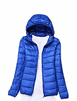 cheap -Hiking Jacket Winter Outdoor Thermal Warm Windproof Breathable Camping / Hiking Hunting Fishing Please contact customer service for wholesale [Women's Hood]Khaki [Women's hood] sky blue [Women's