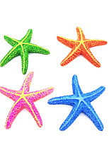 cheap -Artificial Resin Aquarium Starfish Fish Tank Sea Star Shape Fake Ornament Decoration