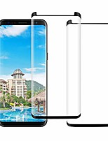 cheap -[2 pack] galaxy s8 plus screen protector,[anti-scratch] [anti-scratch] tempered glass full coverage [3d curved] ultra thin hd clear 9h hardness screen protector compatible samsung galaxy s8 plus