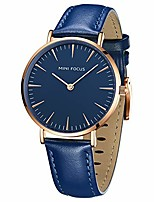 cheap -women's watches leather fashion classic waterproof thin watches ladies minimalist casual watch simple dress wrist watch with girl