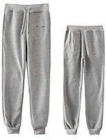 cheap -Inspired by Naruto Cosplay Akatsuki Uchiha Itachi Pants Polyester / Cotton Blend Print Printing Pants For Men's / Women's